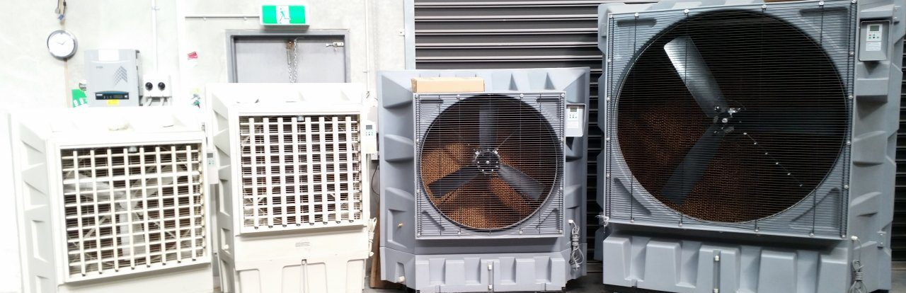 Mobile Commercial Evaporative Coolers Australia